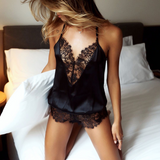 Come On Over Lace Romper