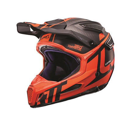 HELMET GPX 6.5 CARB V16 CARBON/ORANGE