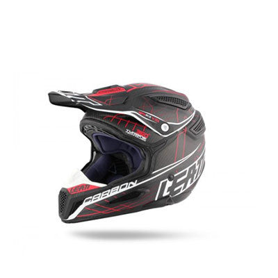 HELMET GPX 6.5 CARBON RED/GRY/WHT