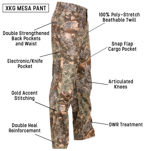 The XKG Mesa Pant - Staple Hunting Pant with Performance and Quality