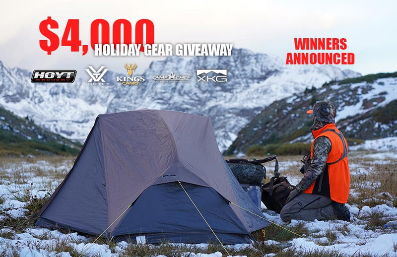 Winners Announced: $4,000 Holiday Gear Giveaway