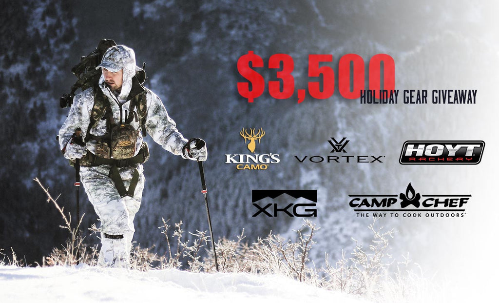 King's Camo Holiday Gear Giveaway Winners!