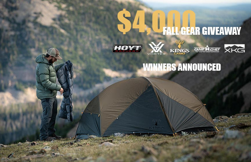 Winners Announced: $4,000 Fall Gear Giveaway