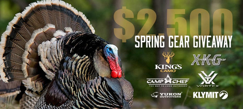 King's Camo $2,500 Spring Gear Giveaway