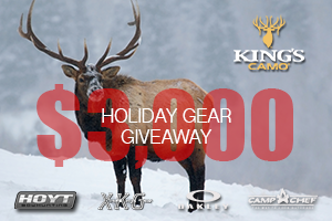 King's Camo Holiday Giveaway Winners!