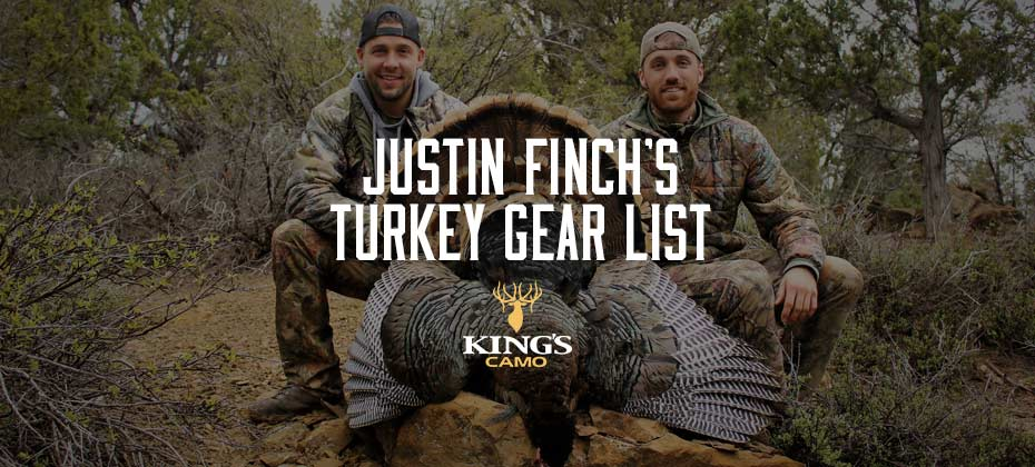 Justin Finch's Turkey Gear List