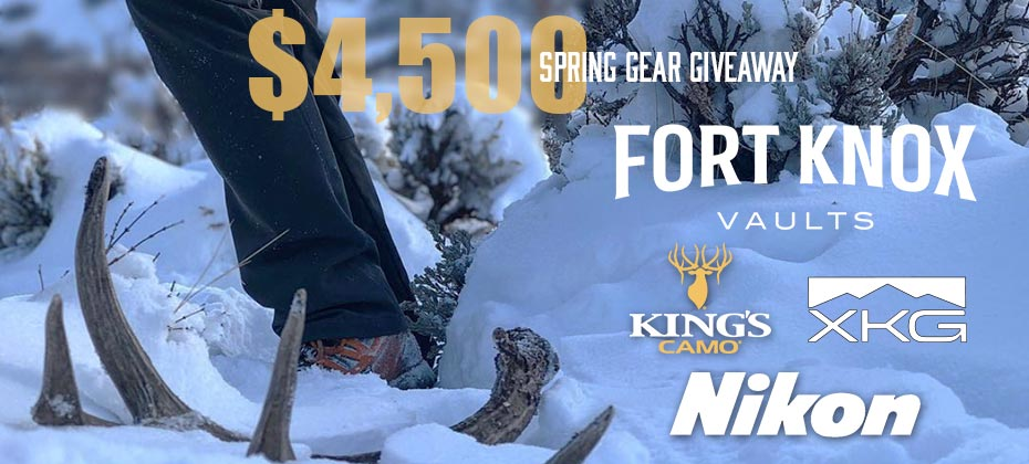 King's Camo Spring Gear Giveaway