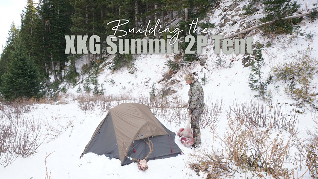 Building the XKG Summit 2P Tent