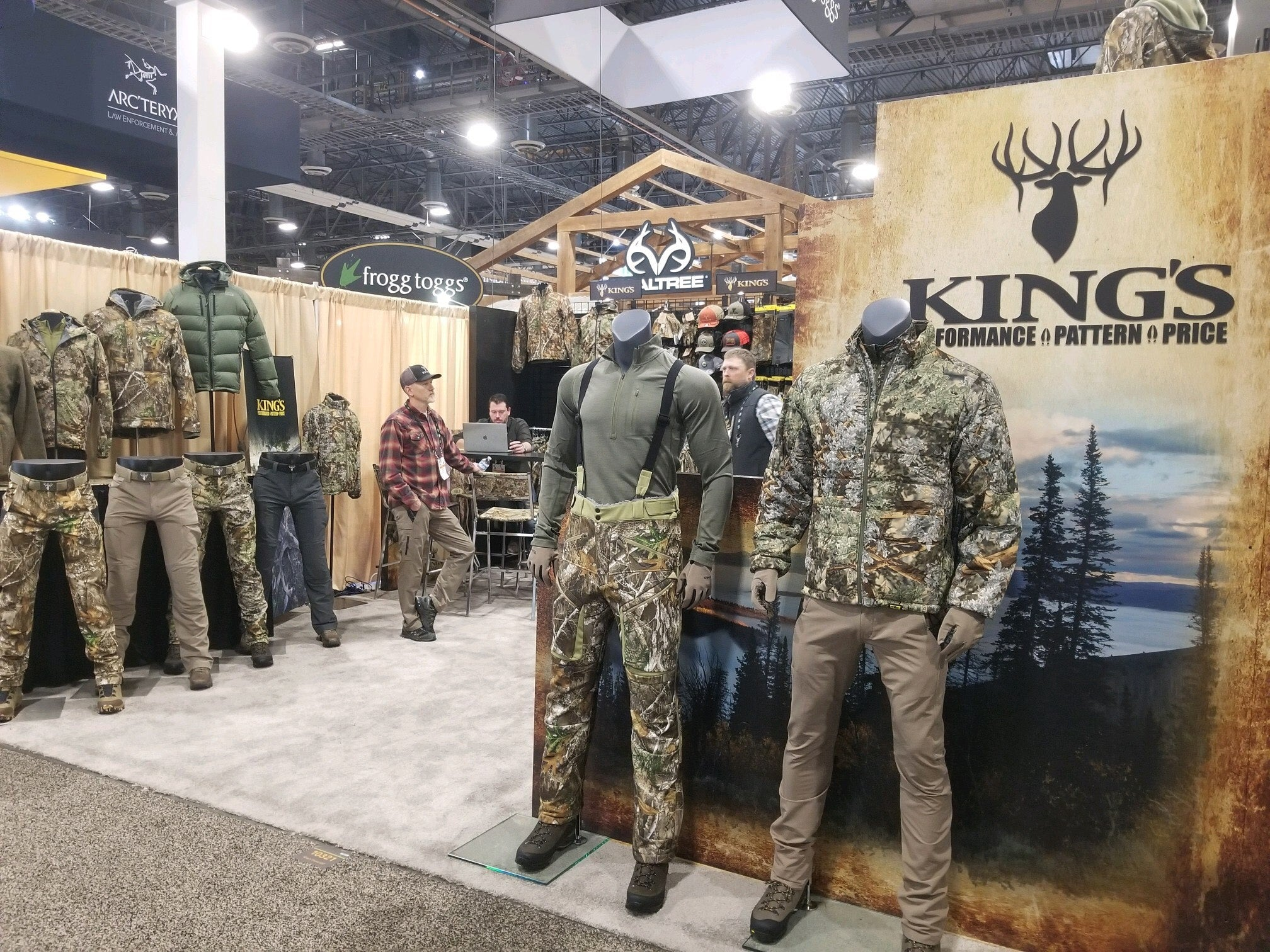 King's Camo New Product Shot Show 2020
