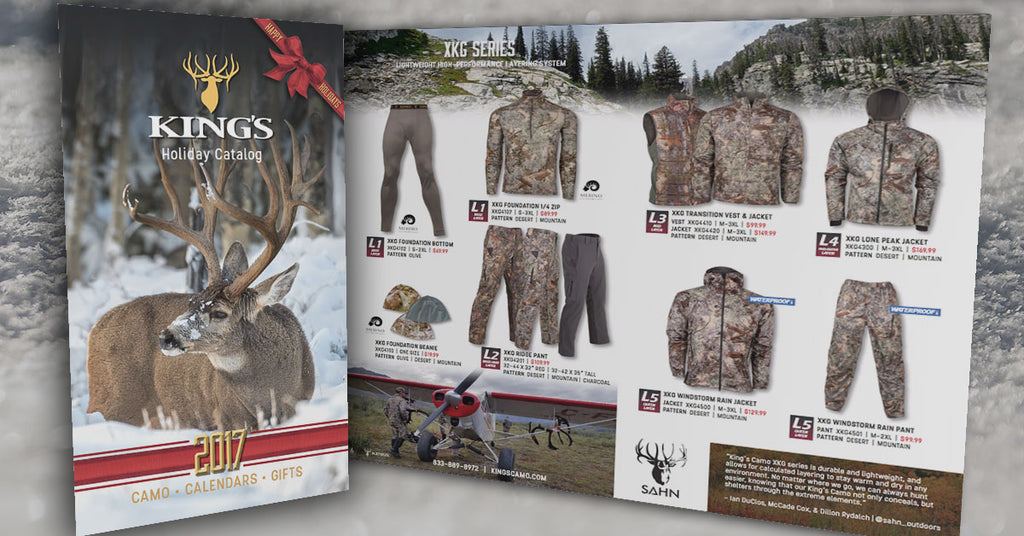 King's Camo Holiday Catalog