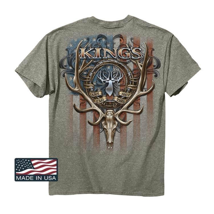 USA Flag Logo T-Shirt 2016