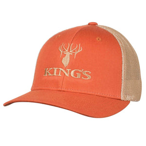 King's Flexfit Mesh Cap Orange/Tan | King's Camo