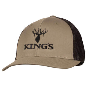 King's Flexfit Mesh Cap Loden/Black | King's Camo