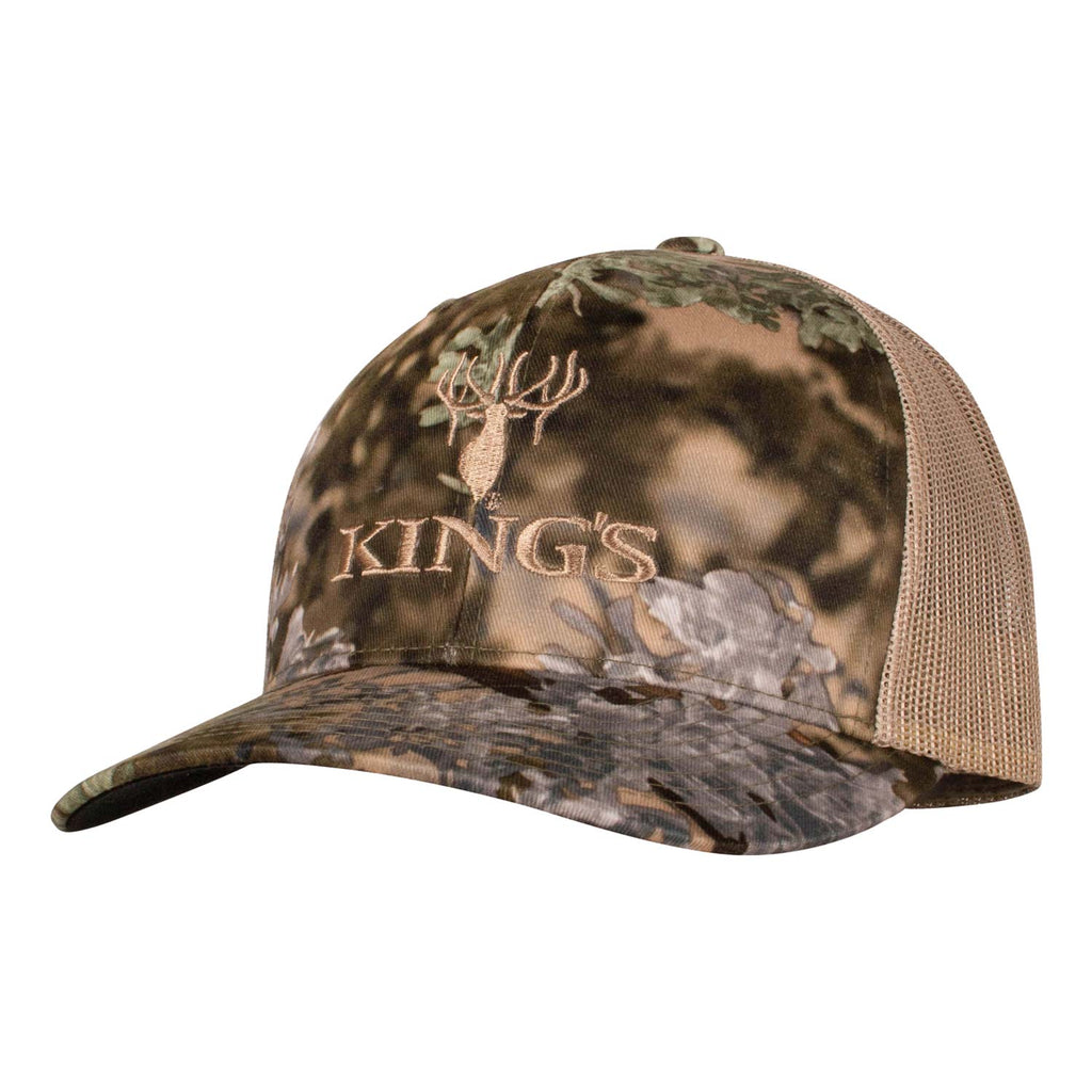 Richardson Camo Logo Snapback Cap in Desert Shadow | King's Camo