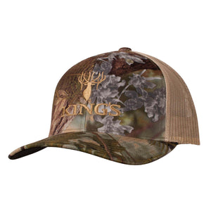 Richardson Camo Logo Snapback Cap in Mountain Shadow | King's Camo
