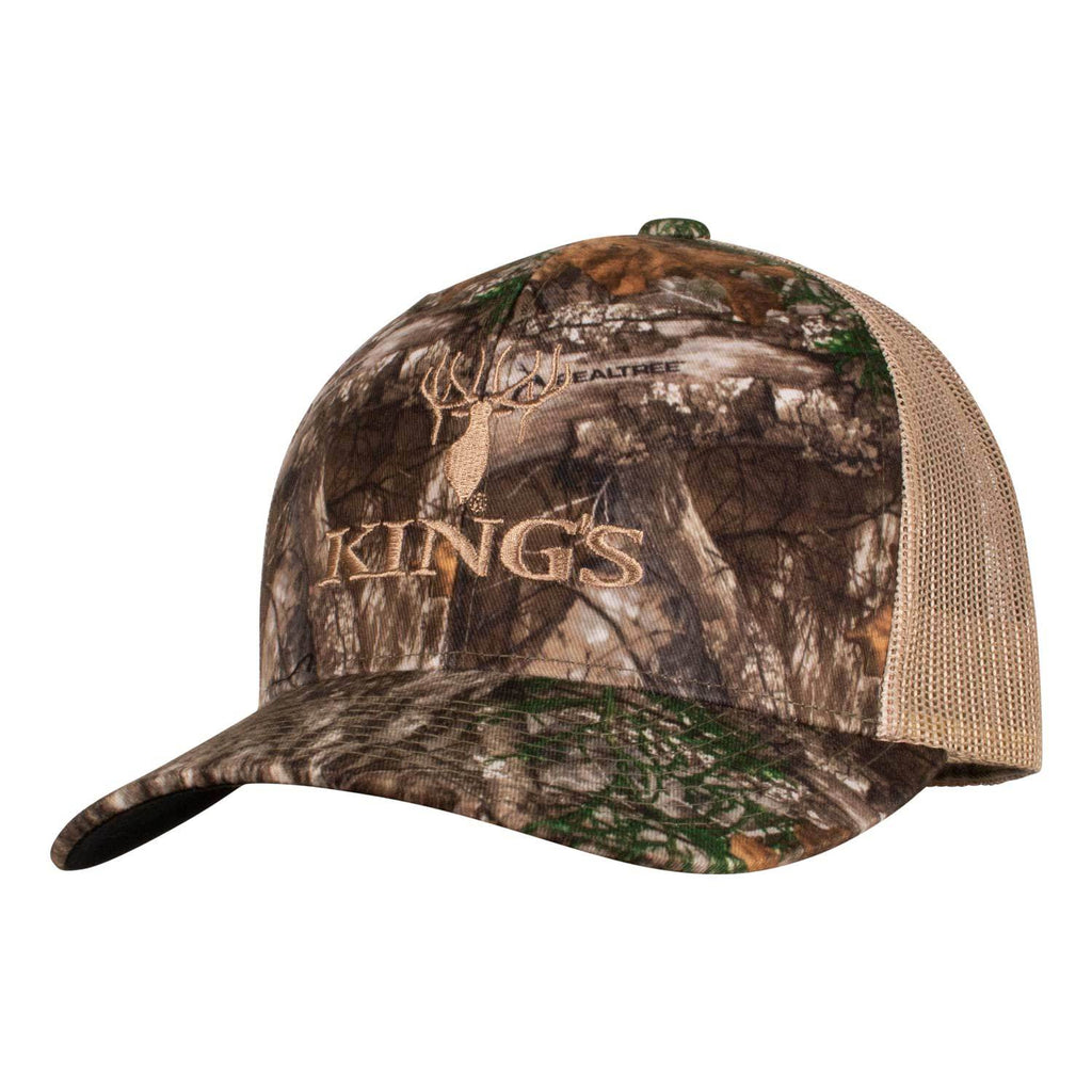 Richardson Camo Logo Snapback Cap in Realtree EDGE | King's Camo