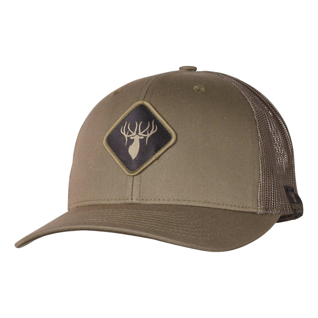 King's Classic Elk Logo Patch Hat | King's Camo