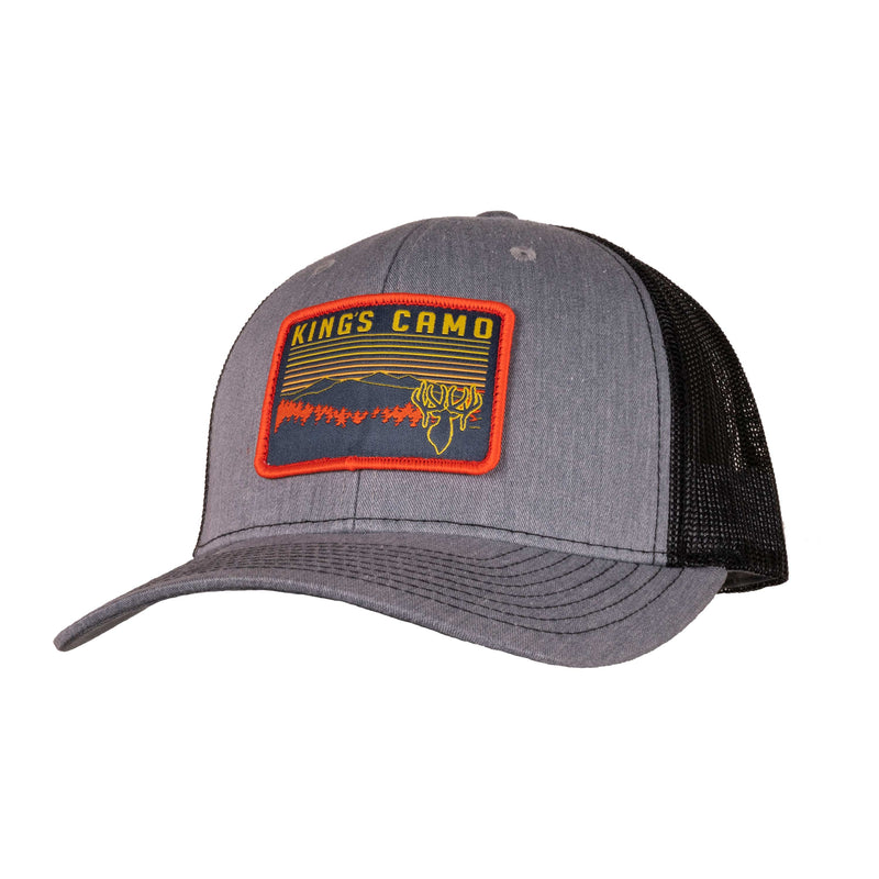 Sunset Trucker Patch Hat | King's Camo