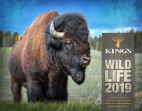 2019 Wildlife Calendar | King's Camo