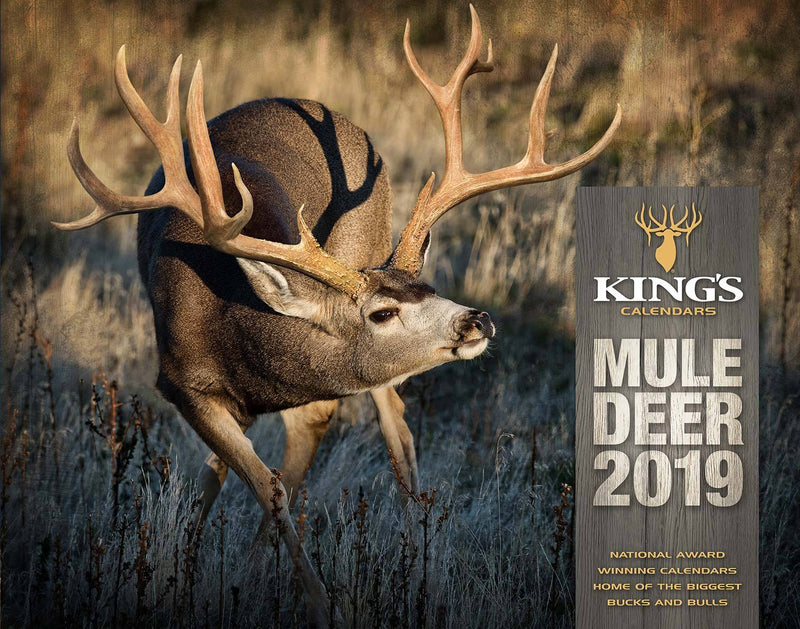 2019 Kings Mule Deer Calendar Kings Camo