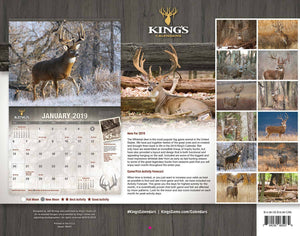 2019 King's Whitetail Calendar | King's Camo