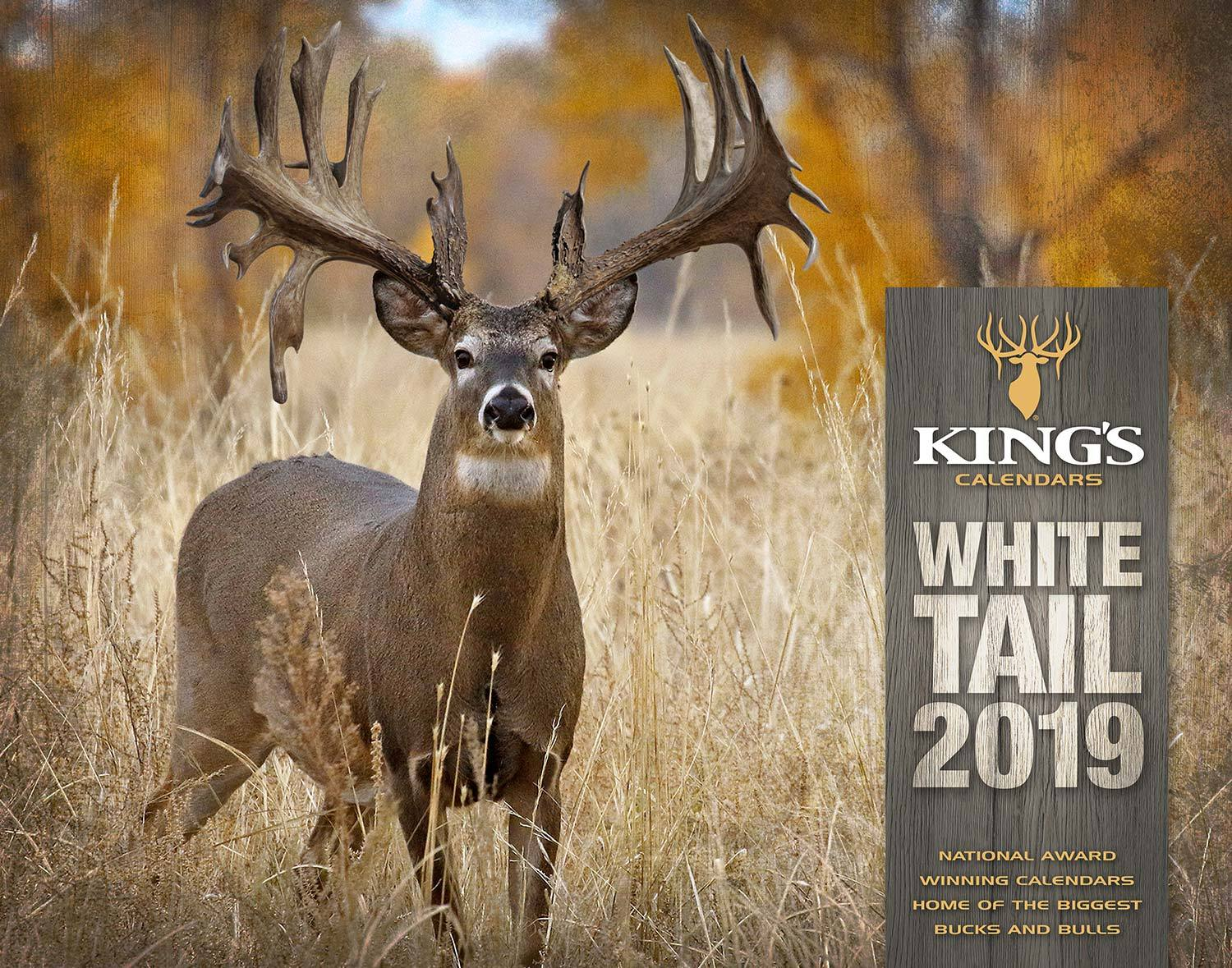 2019 Kings Whitetail Deer Calendar Kings Camo