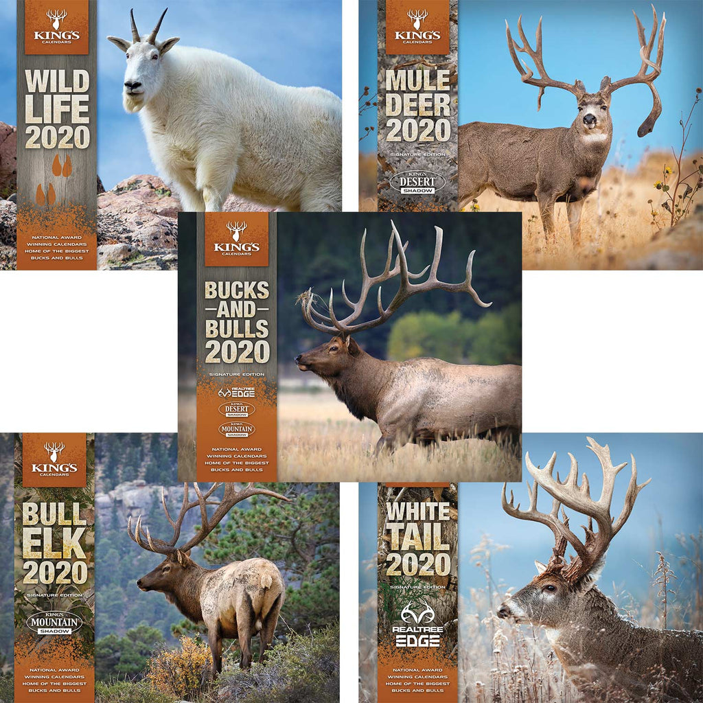 2020 King's Calendar Bundle 5 Pack | King's Camo
