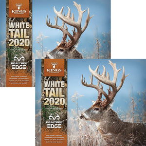 2020 King's Whitetail Calendar TWIN PACK | King's Camo