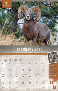 2020 King's Wildlife Calendar | King's Camo
