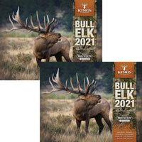2021 King's Bull Elk Calendar TWIN PACK