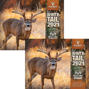 2021 King's Whitetail Calendar TWIN PACK