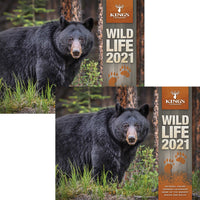 2021 King's Wildlife Calendar TWIN PACK