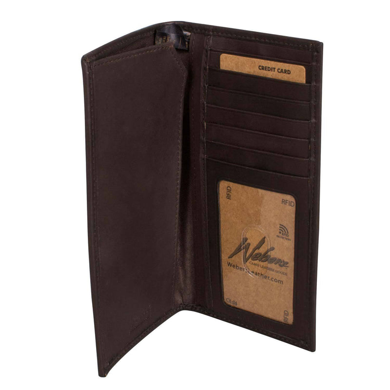King's Leather Pocket Secretary Wallet