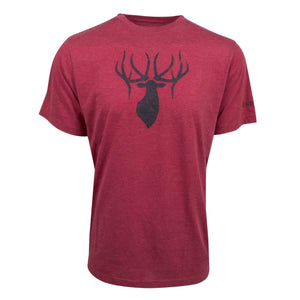 King's Triblend Tee in Heathered Red | King's Camo