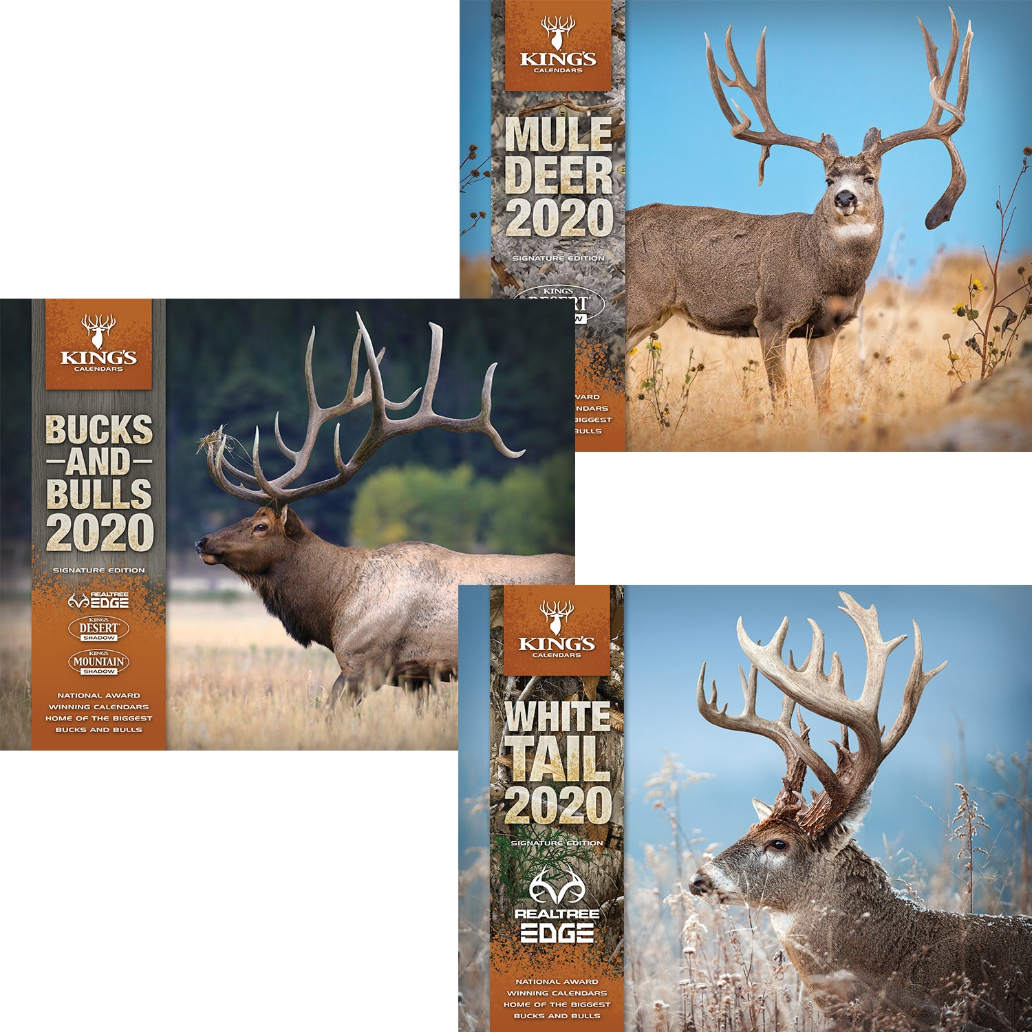 2020 Pick ANY 3 Calendar Bundle