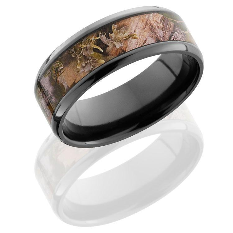 Black Zirconium Ring in Mountain Shadow®