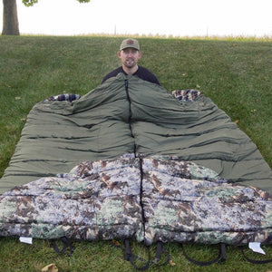Hunter Series -35 Degree Sleeping Bag Bundle | King's Camo