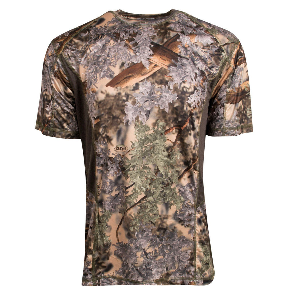 Performance Mesh Camo Tee Desert Shadow | King's Camo
