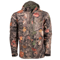 KC1 Soft Shell Hooded Jacket in Woodland Shadow | King's Camo