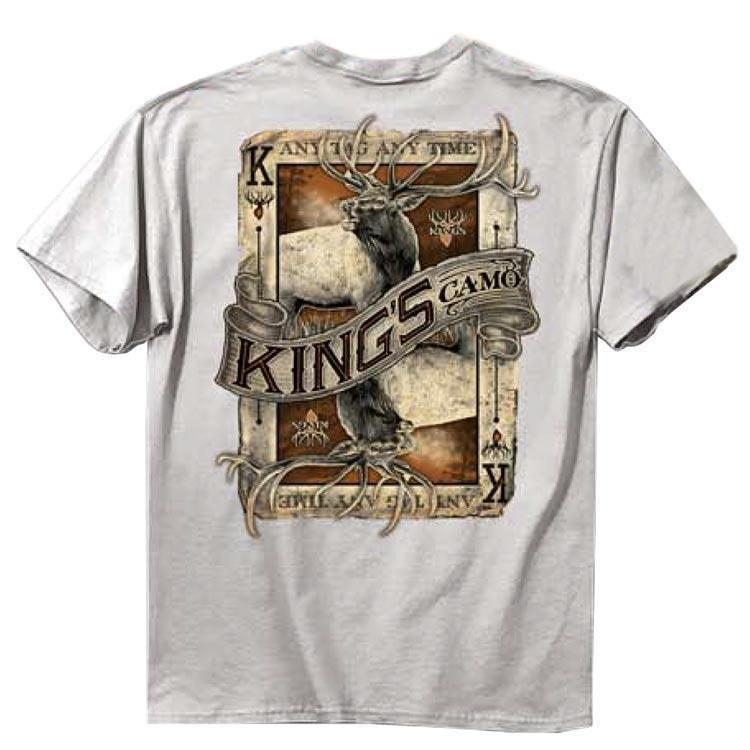 Elk Card Grey T-shirt