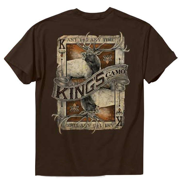 Elk Card Chocolate T-shirt