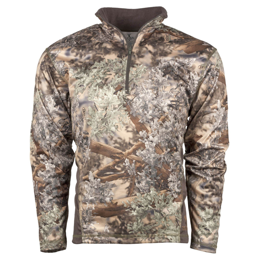 KC1 1/4 Zip Pullover Desert Shadow | King's Camo