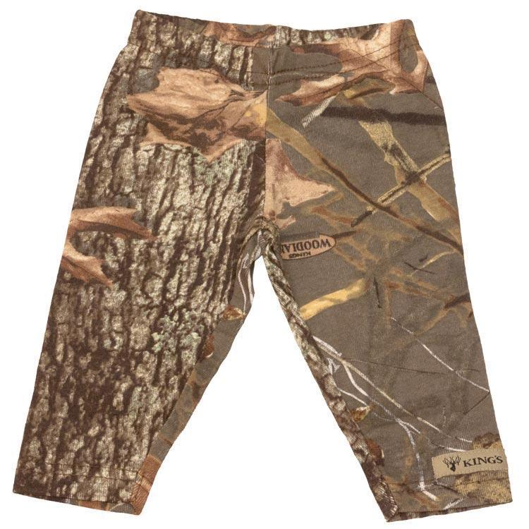 Infant Leggings Woodland Shadow 0/3 Months | King's Camo