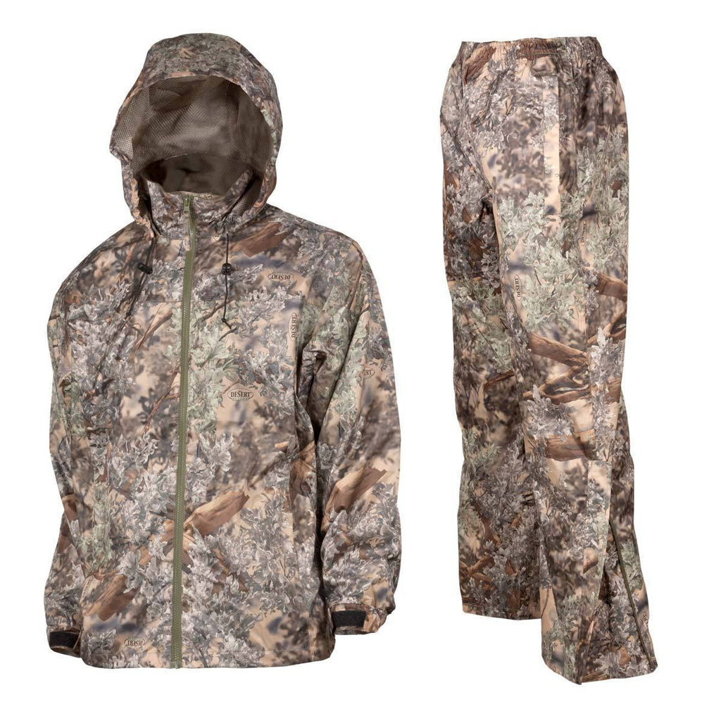 Guide's Choice Rain Gear Bundle in Desert Shadow® Small Jacket | King's Camo