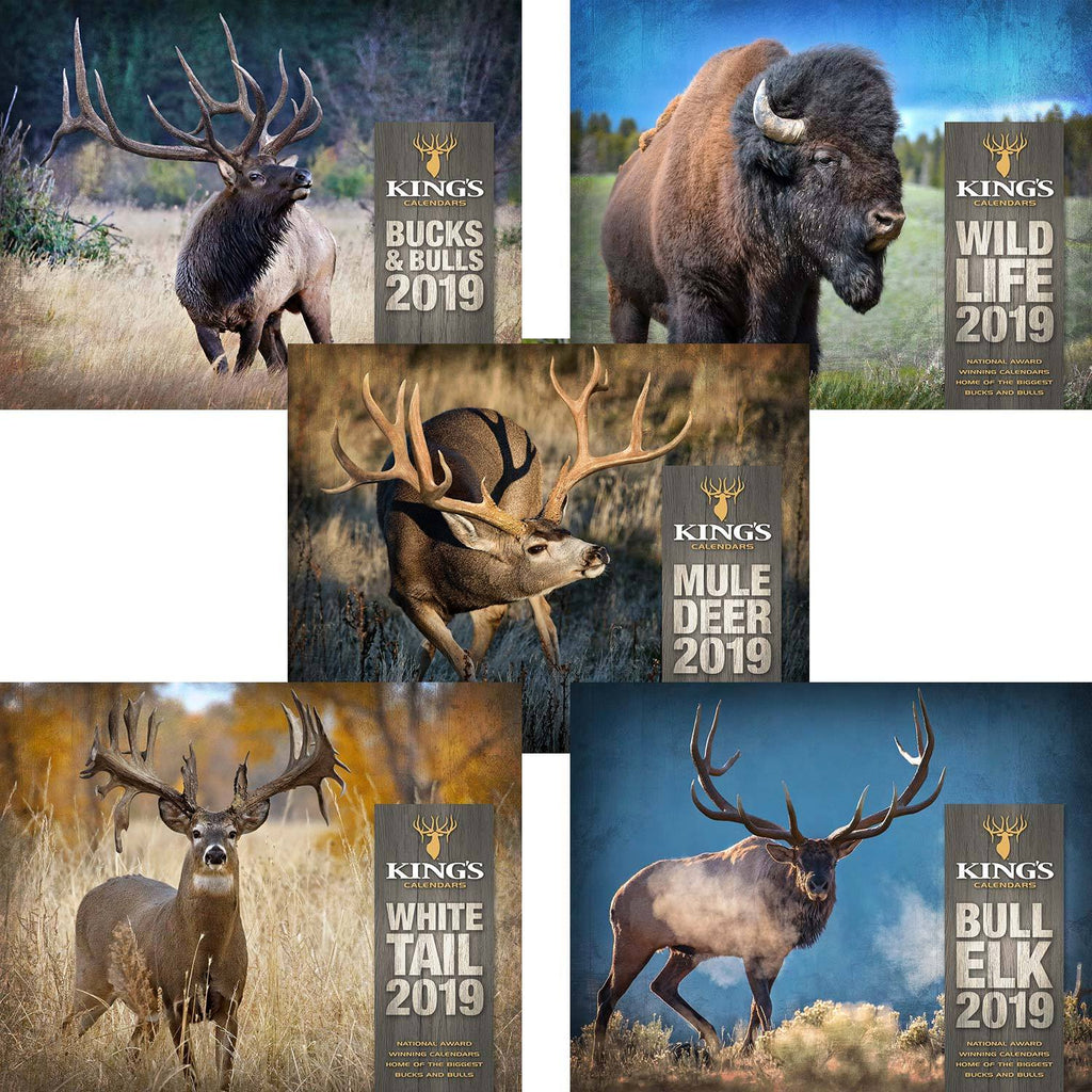 2019 King's Calendar Bundle 5 Pack | King's Camo