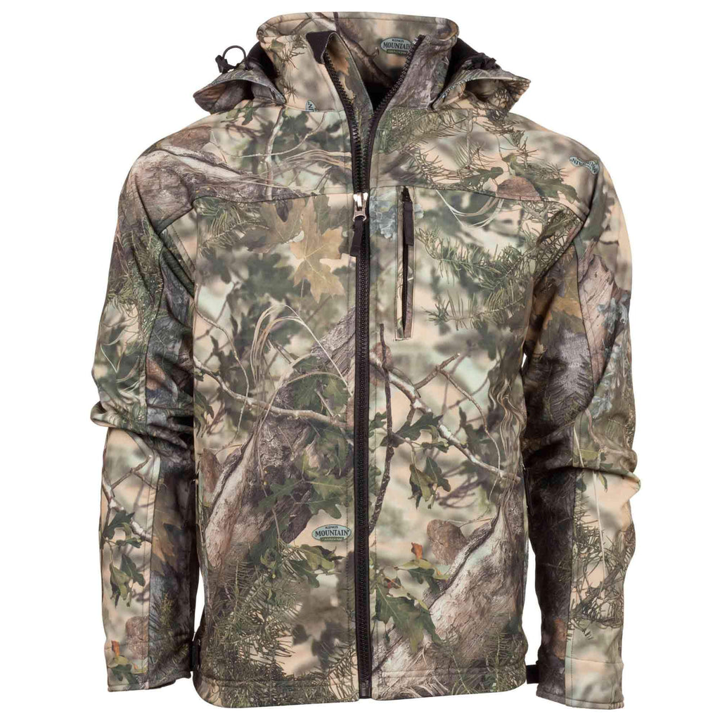 Guide's Choice Soft Shell Hooded Jacket Desert Shadow | King's Camo