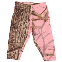 Infant Toddler Leggings Woodland Pink | King's Camo