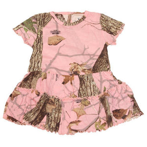 Infant Toddler Dress Woodland Pink 0/3 Months | King's Camo