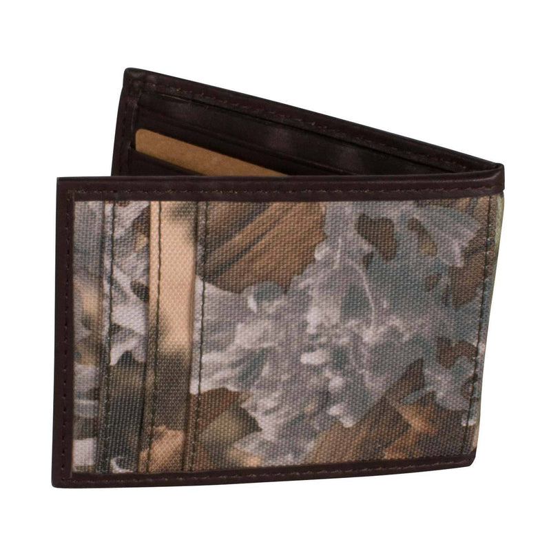 King's Leather Front Pocket Wallet | King's Camo