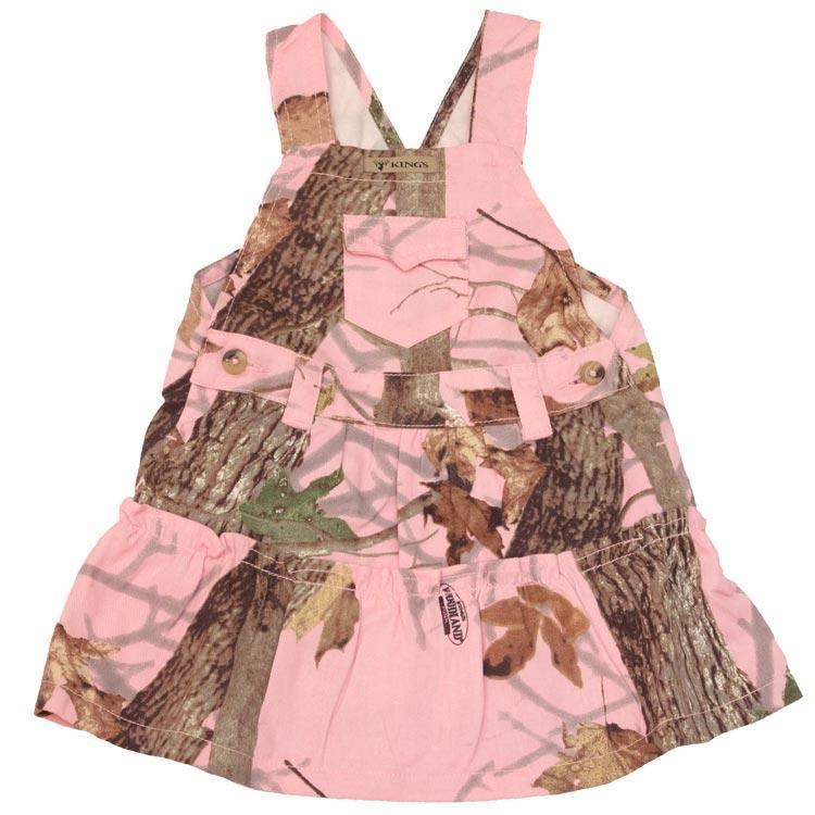 Infant Toddler Jumper Woodland Pink 0/3 Months | King's Camo